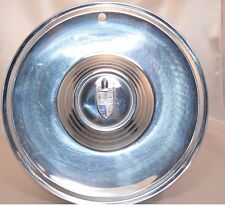 1957 57 Lincoln Capri Hub Cap with Crest - Original Equipment