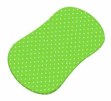 Sheetworld Primary Pindots Woven Fitted Bassinet Sheet