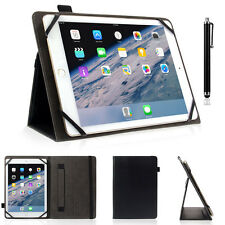 "Slim Protective Folio Universal Case Leather Stand Cover for iPad & 9-10"" Tablet"