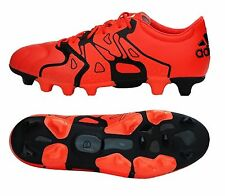 Adidas Men Cleats X 15.2 HG Soccer Football Sports Orange Shoes Boots B26969