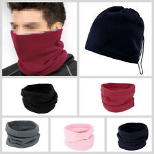 3-in-1 Winter Skiing Cycling Hiking Scarf Neck Warmer Face Mask Hat Snood JK