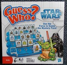 GUESS WHO ? - STAR WARS EDITION - By MB GAMES -Hasbro 2008