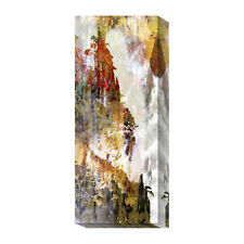 Global Gallery Li Panel III by Suzanne Silk Graphic Art Print on Canvas