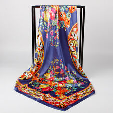 "New Arrival  Shawl Women's Silk Satin Fashion  Scarf Ladies Scarves 35""x35"""