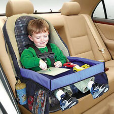Waterproof Baby Safety Travel Tray Drawing Board Table Kids Car Seat Snack OZ