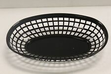 LOT OF 48- Plastic OVAL FOOD BASKET Fast Food French Fry Sandwich NEW - 3 Colors