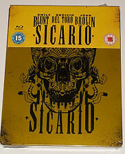 Sicario - Limited Edtion Steelbook Blu-Ray New Sealed