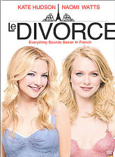 Le Divorce (DVD, 2004, Dual Side)