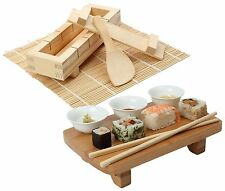 Japanese SUSHI Making Kit OPTIONAL Serving Set Make and Serve your own Sushi NEW