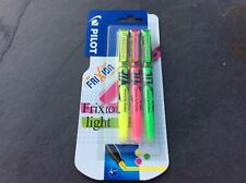 PILOT Frixion Refills 4 Colour Multi Ball Pen | 3 x Highlighter | Rollerball Pen