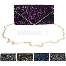Printed Ladies Envelope Clutches Bag Purse Evening Bag Bridal Handbag Prom Bag