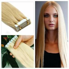 20 Pcs 100% Remy #613 Blonde PU Tape-In Extensions 100% Human Hair Extensions