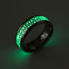 League of Legends Fluorescence Stainless Steel Band Ring All Size Gold/Silver