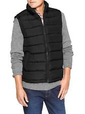 GAP Warm Men's Puffer Vest Black S M L Full Zipper NWT