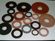 Leather Washers-I/D's from 16.3mm up to 26mm. 18 different sizes, 10 per pack