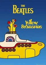New Yellow Submarine The Beatles Poster