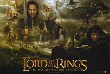 New The Lord of the Rings The Motion Picture Trilogy LOTR Poster