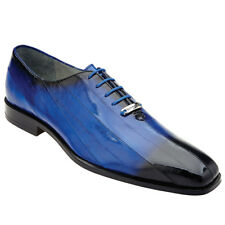 Stella By Belvedere In Antique Royal Blue Dress Lace Up Shoes