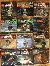 LEGO Star Wars Minifigures Polybag Your Choice Yularen Hoth Han C3PO+more