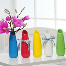 Water Droplets Shape Vase Modern Simple Ceramic Vase Home Decoration