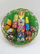 Easter Basket - Large Bunnies & Eggs - Small Bunnies & Eggs-  Easter Treat Gifts