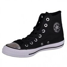 Converse CTAS Hi black/silver/black Shoes Chuck Taylor All Star High 555814C