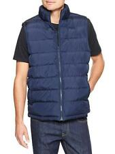 GAP Warm Men's Puffer Vest Navy Blue XS S M L Full Zipper NWT