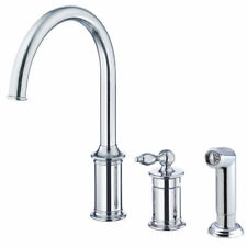 Danze® Prince Single Handle Deck Mounted Kitchen Faucet with Side Spray