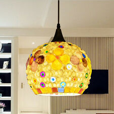 1 PC Mediterranean Style Light Glass+ Shell  Chandelier/Hanging lamp/Droplight