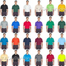 UltraClub Mens Cool and Dry Mesh Pique Polo Shirt - 8210