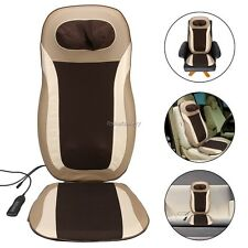 Electric Car Home Massage Cushion Seat Chair Back Neck Shoulder Body Massager