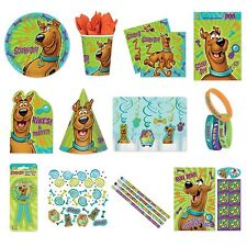 SCOOBY DOO (NEW Birthday PARTY RANGE {Amscan}(Tableware/Decorations/Balloons)