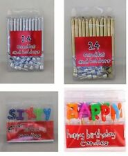 Birthday Cake CANDLES (Party, Age, Decorations, Celebration, Letters)