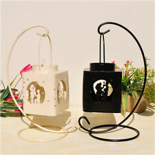 Decorative Candlestick Hanging Candle Lantern with Lovers Design Candle Holder