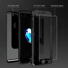 Matte Black New Case Cover Skin Screen Protector for iPhone 7 6S 6 5S Plus
