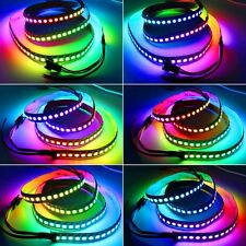 5V WS2812B 5050 RGB Strip 5M 30/144/300 LED Individual Addressable String Light