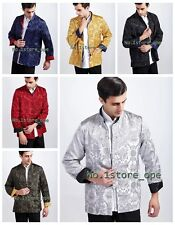 Hot Sale Double-face Chinese Style Men's Kung-Fu Jacket Coat M,L,XL,XXL XXXL