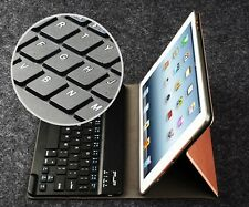Luxury Bluetooth Wireless Keyboard with PU Leather Case Cover for iPad Air 1/2