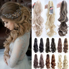 2017 New Claw Clip In Ponytail Extension Hair Extensions straight pony tail ncs2