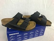 NEW BIRKENSTOCK ARIZONA SANDAL 51791 BLACK BIRKO WOMENS SHOES 37-42 FAST SHIP