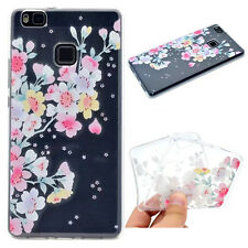 Cherry blossom Printed Thin Soft Silicon Rubber Case Cover For Various phones