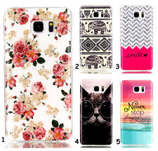 New Stylish Paint Silicone TPU Gel Soft Back Skin Case Cover For Mobile Phones