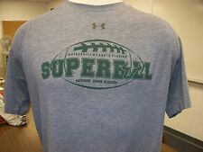 USF South Florida Bulls NCAA Under Armour Dry Fit SuperBull Game Day Tee Shirt