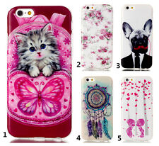 New Fashion Pattern Rubber Soft TPU Back Case Cover Silicone For Various Phones