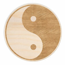 Woodums Yin Yang Wood Sign Wall Décor