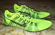 NEW Mens 6.5 NIKE Victory Elite Carbon VOLT Yell Mid Distance Track Spikes Shoes