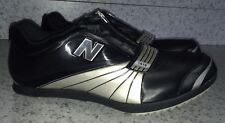 NEW Mens 14 NEW BALANCE 1010 Triple Jump Pole Vault Track Field Shoes Black Silv
