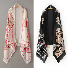 "Fashion Stylish Women Long Soft Silk Stain Scarf Wrap Shawl Scarves 70"" 35"""