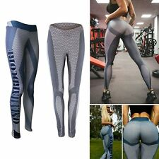 Womens Yoga Pants Leggings Skinny Athletic Trousers Gym Sports Running Fitness