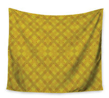 East Urban Home Dotted Plaid by Mydeas Wall Tapestry